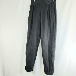 Peserico Black Dress Pants Size 42
